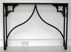Ogee and Quatrefoil Console table