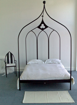 Ogee Gothic Four Post Double Bed